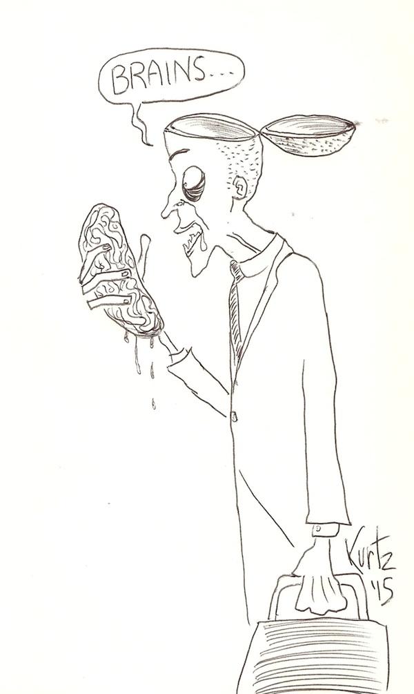 Brains-smartphone-zombie