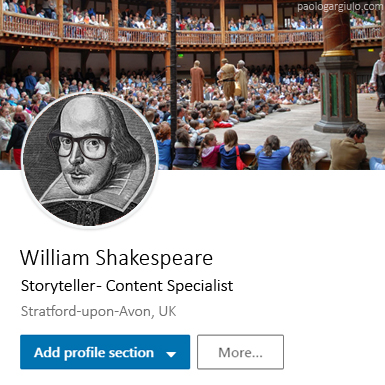 Shakespeare-Storyteller